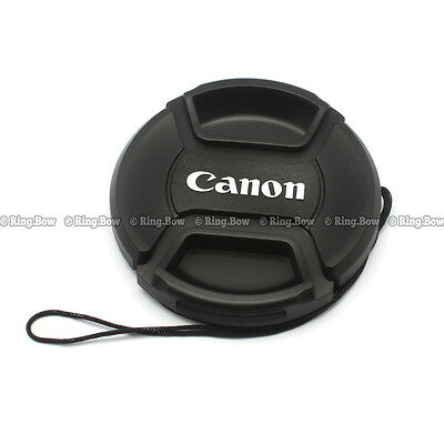 2PCS 52mm Snap-on Lens Cap for Canon Camera