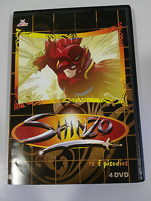 Shinzo Manga 13 Episodios Spanish Edition 4 X Dvd 338 Minutos Unico Todo Ebay &