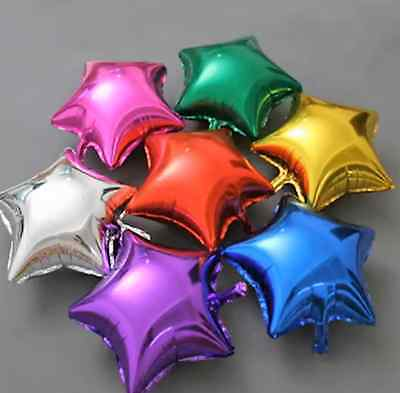 "Star Helium Foil Balloons - Wedding Birthday Party Decor Balloon New -18""/45cm"