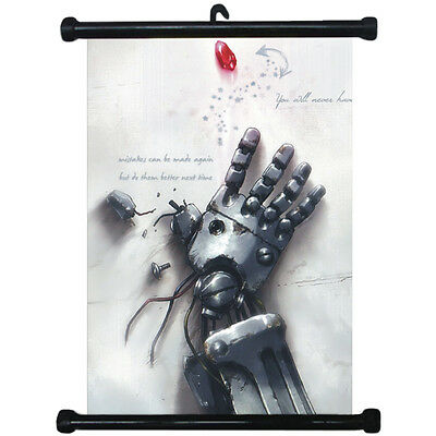 sp210670 FullMetal Alchemist Japan Anime Home Décor Wall Scroll Poster 21 x 30cm