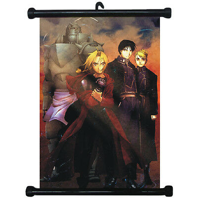 sp210678 FullMetal Alchemist Japan Anime Home Décor Wall Scroll Poster 21 x 30cm