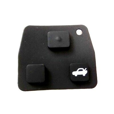 Toyota Remote Key Fob 2 / 3 Button Rubber Key Pad for Avensis Corolla Rav4 Yaris