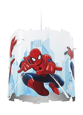 Philips Spider Man Ceiling Pendant Marvel Children's Lightshade Spiderman Shade