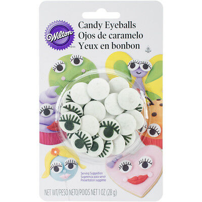 Candy Decorations 1Oz Eyelash Eyeballs W102223
