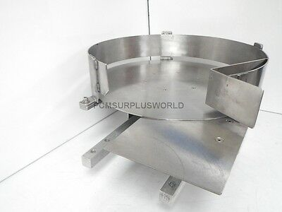 Accumulation Table, Turn, Transfer, Rotary Feed Table (Used and Tested)