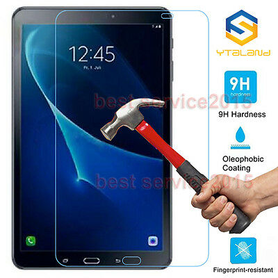 """9H Tempered Glass Film Screen Protector For Samsung Galaxy Tab A 10.1"""" T580 T585"""