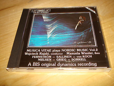 Nordic Music Vol.2 MUSICA VITAE RAJSKI Audiophile BIS CD NEW SEALED