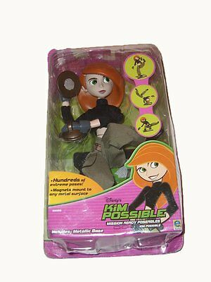 Disney KIM POSSIBLE Mission Ready Poseables Doll