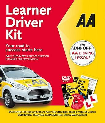 AA Learner Driver Kit Theory Test & Hazard Perception DVD Highway Code & More