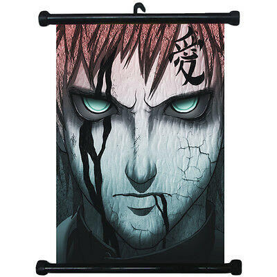 sp210803 Naruto Gaara Japan Anime Home Décor Wall Scroll Poster 21 x 30cm
