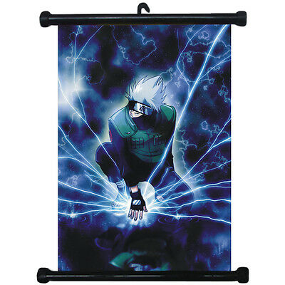 sp210818 Naruto Kakashi Japan Anime Home Décor Wall Scroll Poster 21 x 30cm