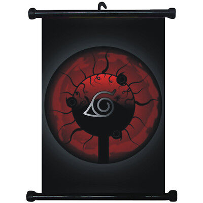 sp210824 Naruto Sharingan Japan Anime Home Décor Wall Scroll Poster 21 x 30cm