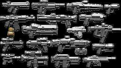 Brickarms Sci Fi Weapons Pack Lego Minifigure Accessory Pack