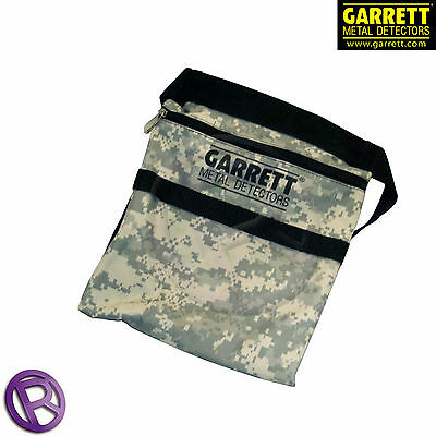 Garrett Camo Finds Pouch - Metal Detecting