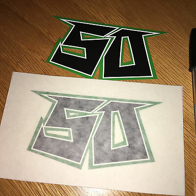 Eugene Laverty Race Number #50 (pair)