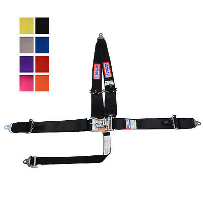 Rjs Racing Sfi 16.1 Latch & Link Pull Up Harness Belt V Roll Bar Mount Any Color