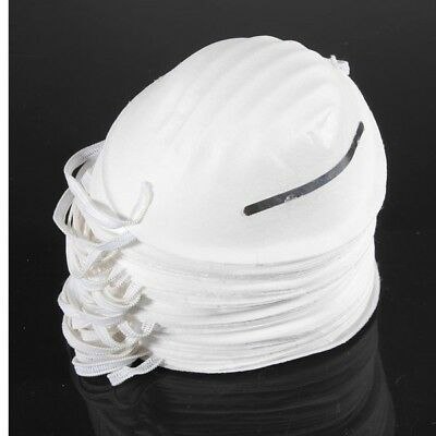 100PCS Dust Mask Disposable Cleaning Mouth Face Masks Clean Respirator Safety