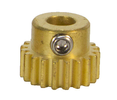 20 Tooth, 32 Pitch, 6mm Bore Gearmotor Pinion Gear (#615262)