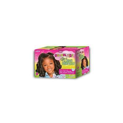 AfricanPride Dream Kids Olive Miracle No-Lye Relaxer Kit,Regular