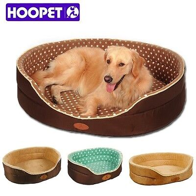 Double sided dog bed Cat House sofa Kennel Soft Fleece