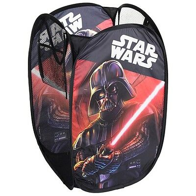 Rangement Pop up Star Wars enfant bac pliant sac