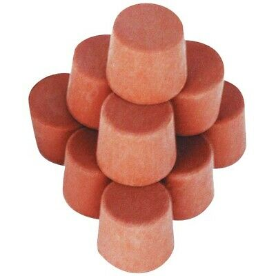 3 x Stopper, Rubber, Solid 20mm Base x 24.5mm Top x 24mm Height