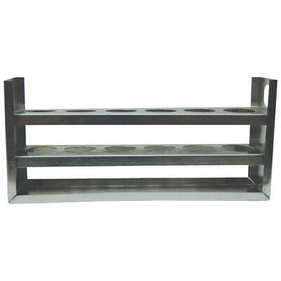 Test Tube Rack 6 Hole, 28mm Diameter without Peg
