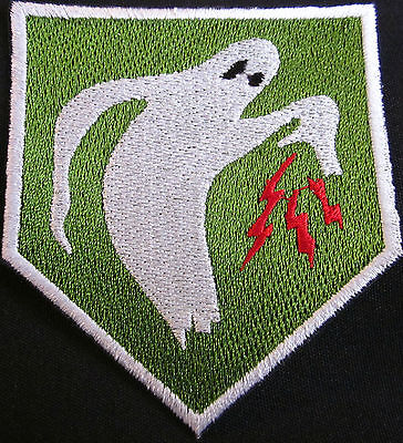 GHOST ARMY WW2 Replica World War 2 Replica Patch Embroidered Iron On To Sew  On