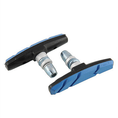 New Rubber V Brake Shoes Pads Holder for MTB Road Bicycle Bike Cycling