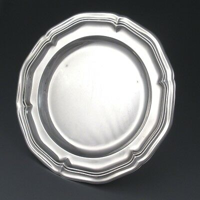 Vintage French Christofle Gallia Silver Plate Cocktail Cheese Serving Plate