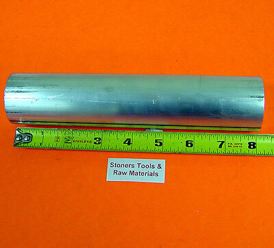 "1-1/8"" 6061 T6511 ALUMINUM SOLID ROUND ROD BAR 8"" long NEW Lathe Stock 1.125"""