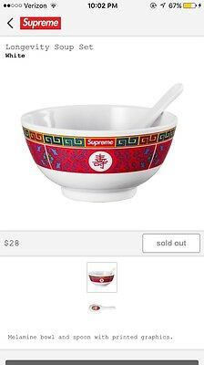 Supreme Soup Bowls Brand New Never Opened In Hand