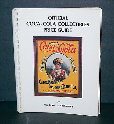 Official Coca Cola 4th Ed. Collector's Price Guide 1982 Petretti & Munsy