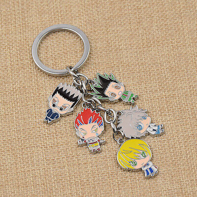 1 Pc Japanese Anime Hunter X Hunter Keychain Accessories Keyring Gon Freecss