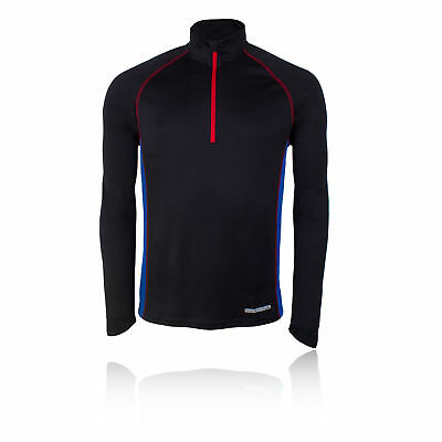 Higher State Mens Half Zip Long Sleeve Running Work Out Sports Top