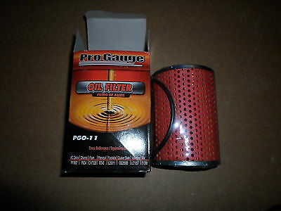 LOT OF 2: PGO-11 Oil Filters, Cross Reference: Wix 51398, Fram CH7329