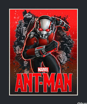 Marvel...ant Man Quilt Panel...in Stock Now...free Post...*new*