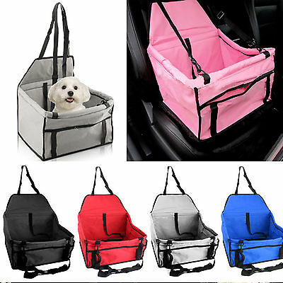 Puppy Pet Dog Cat Car Seat Safety Car Seat Belt Cover Booster Bag For Dog UK