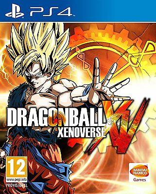 Dragon ball XenoVerse Videogame For Sony PS4 Games Console Sealed New Uk