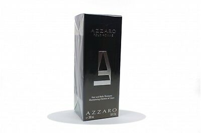 AZZARO POUR HOMME DOCCIA SHAMPOO UOMO 300ML Hair and Body shampoo for men