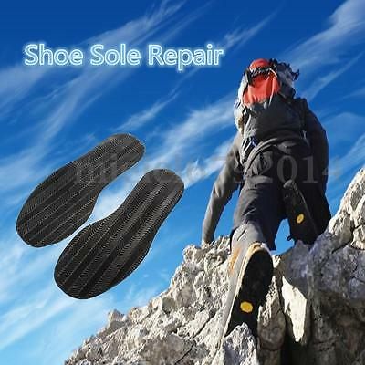 Anti-Slip Shoe Repair DIY Stick On Soles Shoe Heel Palm Grip Rubber Thick Thin