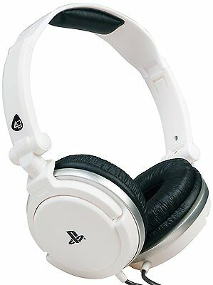 Officially Licensed Stereo Gaming Headset - White (Sony PS4 PS Vita)