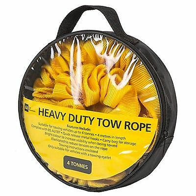 The AA - Tow Rope  4.0m - 4 tonne - in carry bag pack