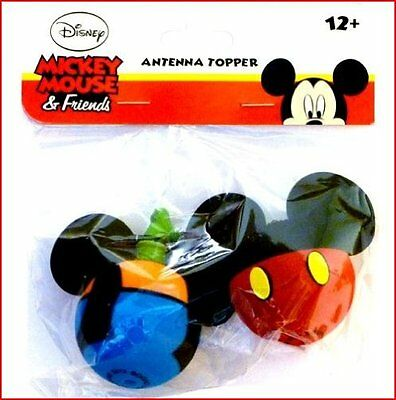 Disney Mickey Mouse and Goofy Body Antenna Pencil Toppers