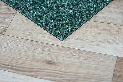 Bedford Green Carpet Tiles - 4m2 Commercial Domestic Office Heavy Use Flooring