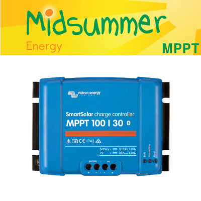 Victron SmartSolar MPPT Solar 100V 30A Controller - With In Built Bluetooth