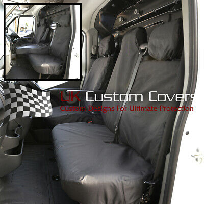 Fits Nissan Nv400 Van 2011 On Tailored Front Seat Covers 236