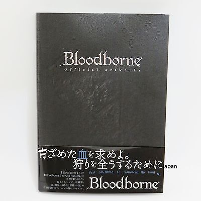 Bloodborne Official Artworks PlayStation 4 Horror Action Art Book With Tracking