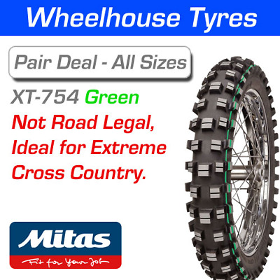 Mitas XT754 Super Light Extreme 120/90-18 65M Green T/T
