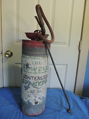 Antique/Vintage The Lowell Pressurized Sprayer Garden/Pesticide